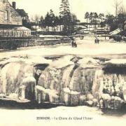 Hirson (Aisne) CPA la chute du Gland gelée