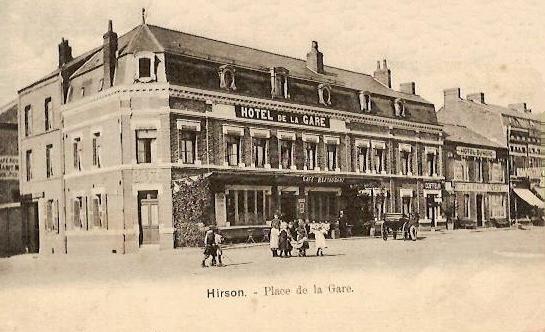 Hirson (Aisne) CPA l'hôtel de la Gare