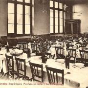 Hirson (Aisne) CPA le réfectoire de l'internat