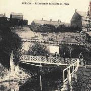 Hirson (Aisne) CPA la nouvelle passerelle