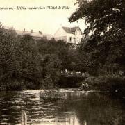 Hirson (Aisne) CPA l'Oise et la passerelle