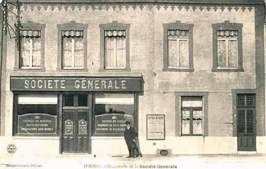 Hirson (Aisne) CPA la Société Générale