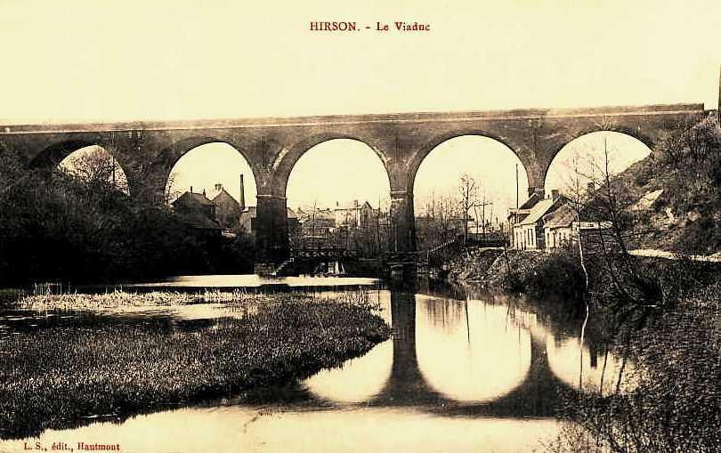 Hirson (Aisne) CPA le viaduc