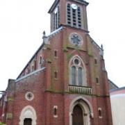 Hirson (Aisne) l'église Notre-Dame-de-Lourdes