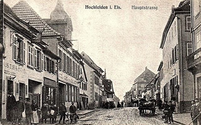 Hochfelden 67 cpa
