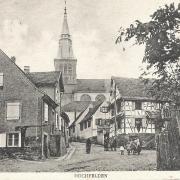 Hochfelden 67 l eglise saint pierre et saint paul cpa