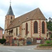 Hochfelden 67 la chapelle saint wendelin