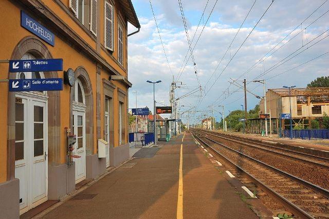 Hochfelden 67 la gare