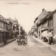 Hochfelden 67 la grande rue cpa