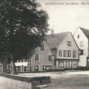 Hochfelden 67 la place du marche cpa