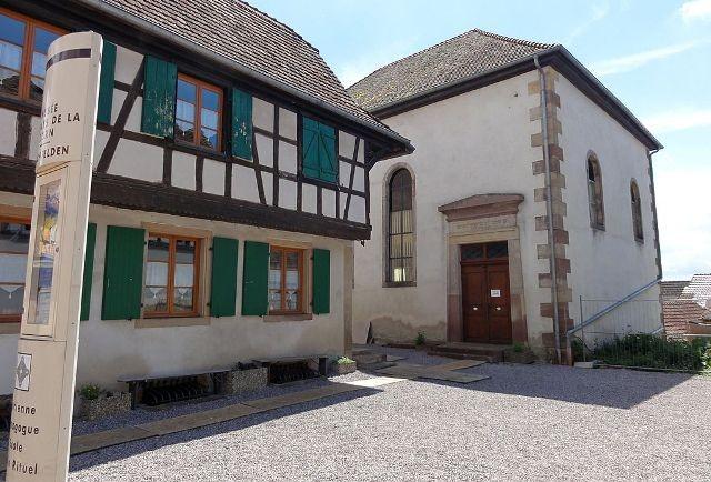 Hochfelden 67 la synagogue le musee