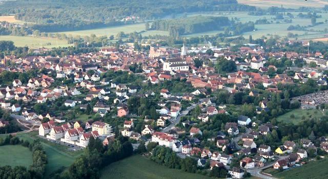 Hochfelden 67 vue generale