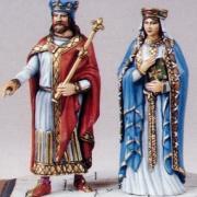 Hugues Capet et Adélaïde d'Aquitaine
