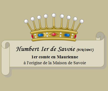 Humbert Ier de savoie