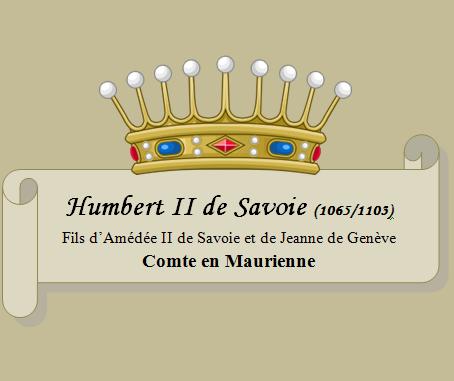 Humbert II de savoie