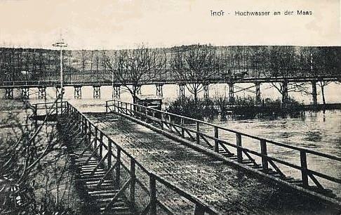 Inor (Meuse) La passerelle