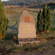 Inor (Meuse) La stèle du 74e RI