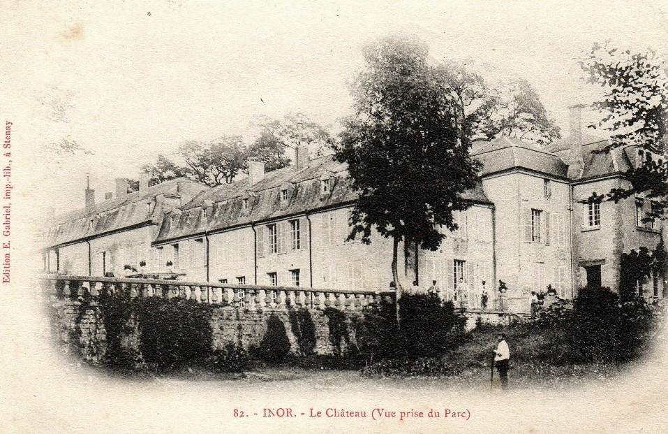 Inor (Meuse) Le château CPA