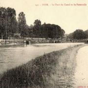 Inor (Meuse) Le port et canal