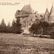 Isenay (Nièvre) Tremblay, le château CPA