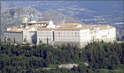 Italie - Mont-Cassin