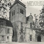 Joigny (89) L'église Saint-André CPA