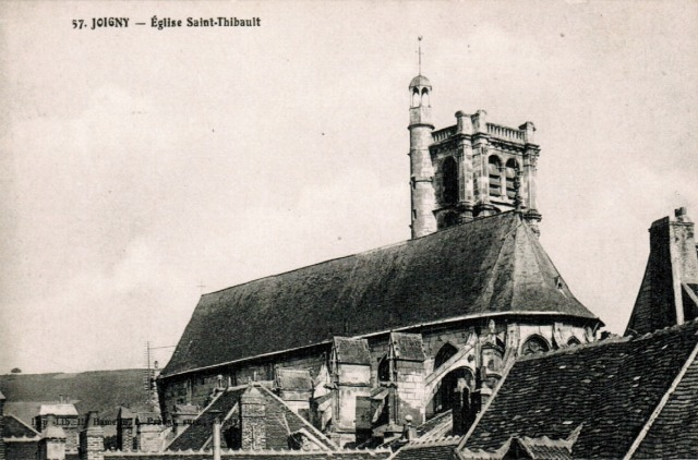 Joigny (89) L'église Saint-Thibault CPA