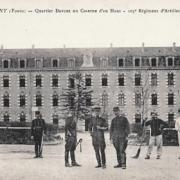 Joigny (89) La caserne CPA