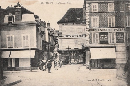 Joigny (89) La Grande Rue CPA