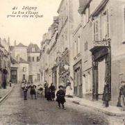 Joigny (89) La rue d'Etape CPA