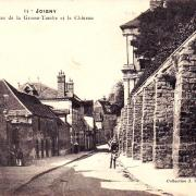 Joigny (89) La rue de la grosse tombe CPA