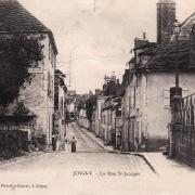 Joigny (89) La rue Saint-Jacques CPA