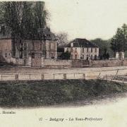 Joigny (89) La sous-Préfecture CPA