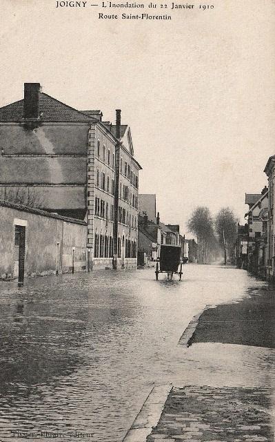 Joigny (89) Les inondations de 1910 CPA