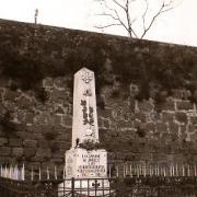Joncels (Hérault) Le monuments aux morts CPA