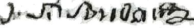 Joseph Philippe Soudan signature 1789