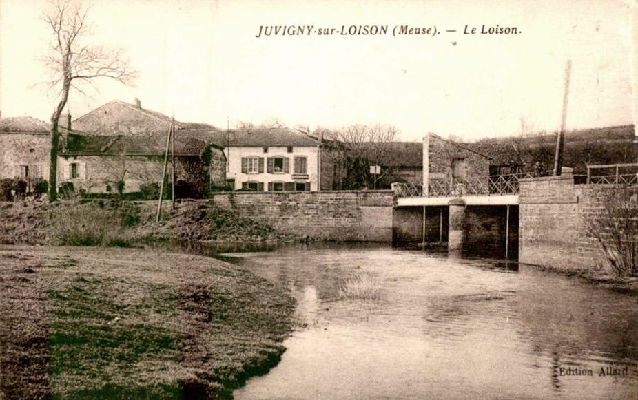 Juvigny-sur-Loison (Meuse) Le Loison CPA