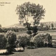 Juvigny-sur-Loison (Meuse) Le pont des vignes CPA