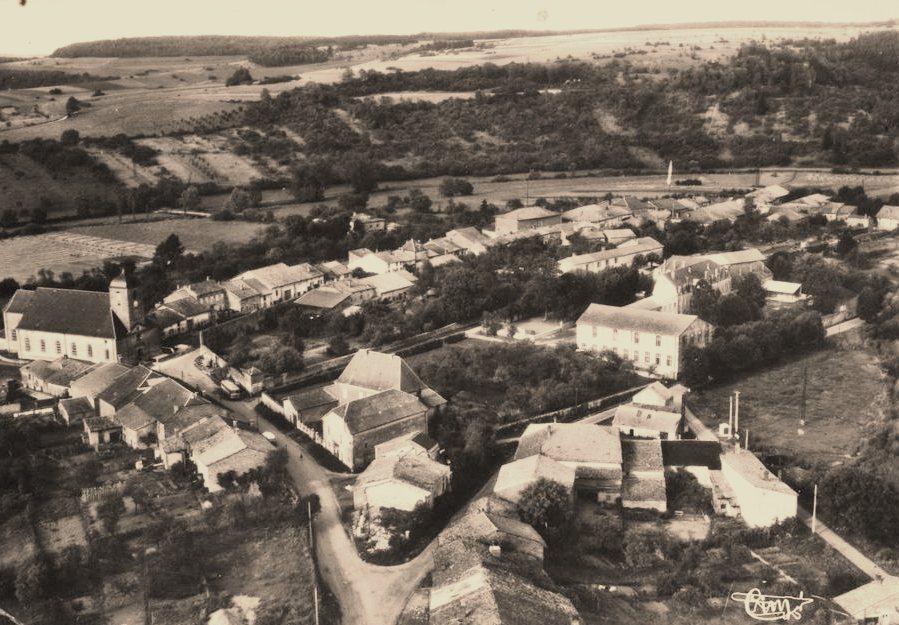 Juvigny-sur-Loison (Meuse) Les hauts fourneaux CPA
