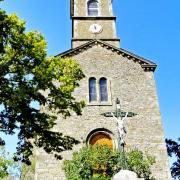 La Bastide-Pradines (Aveyron) L'église Saint-Pierre