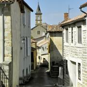 La Bastide-Pradines (Aveyron) Le village