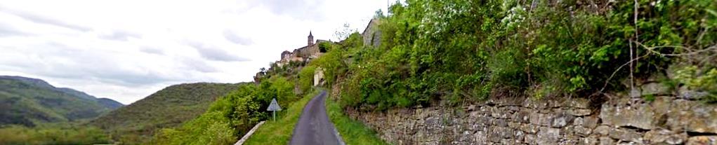 La Bastide-Pradines (Aveyron) Panoramique