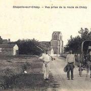 La Chapelle-sur-Chézy (Aisne) CPA