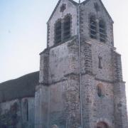 La Chapelle-sur-Chézy (Aisne) Eglise Saint- Barthélémy