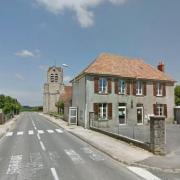 La Chapelle-sur-Chézy (Aisne) Mairie et église