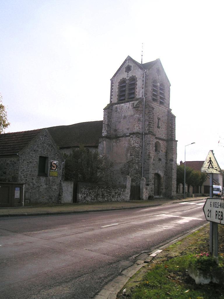 La Chapelle sur Chézy en 2004