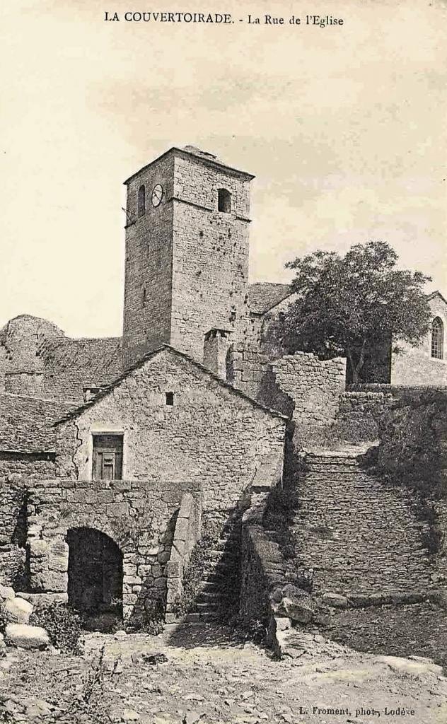 La Couvertoirade (Aveyron) CPA L'église
