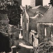 La Couvertoirade (Aveyron) CPA La rue de l'église
