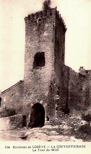 La Couvertoirade (Aveyron) CPA La tour du midi