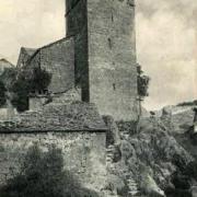 La Couvertoirade (Aveyron) CPA Le calvaire